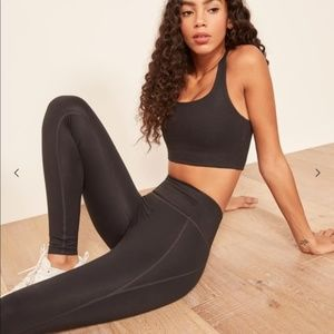 Girlfriend Collective High Rise Leggings in Black
